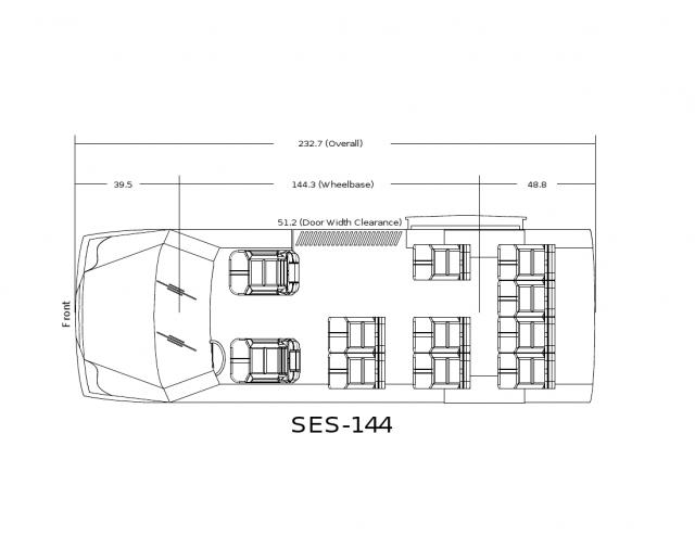 Mercedes Sprinter Floor Plan: 2016 Shuttles Mercedes Sprinter Shuttle At Http