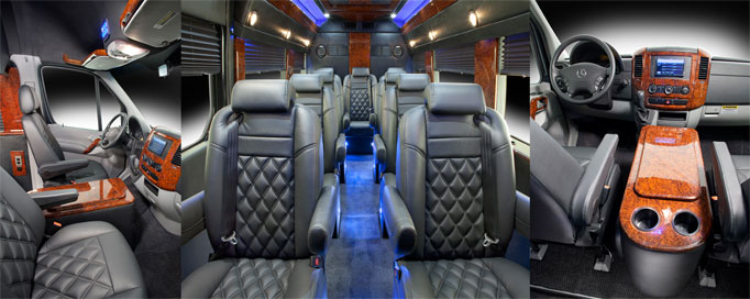 Stallion Luxury Vehicles Shuttle Sprinter