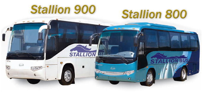 Stallion Motorcoaches 900 and 800